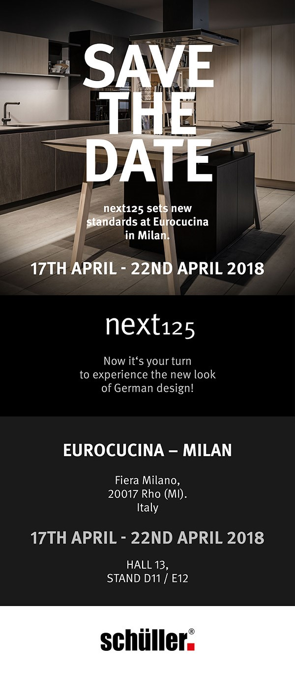 Next125 - Salone del Mobile Milano 2018